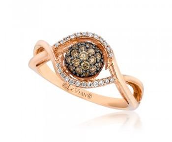 Diamond Chocolate Rings - Sachs Jewelers