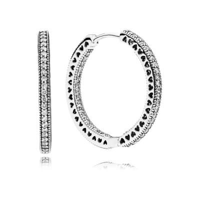 Pandora Earring  Style# 296319CZ
