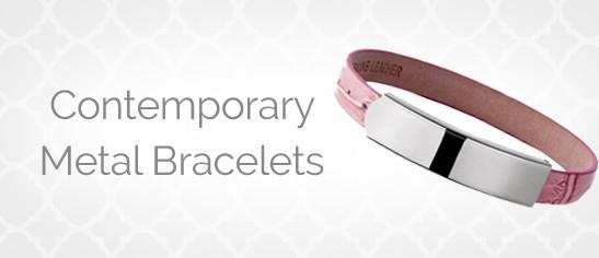 Contemporary Metal Bracelets