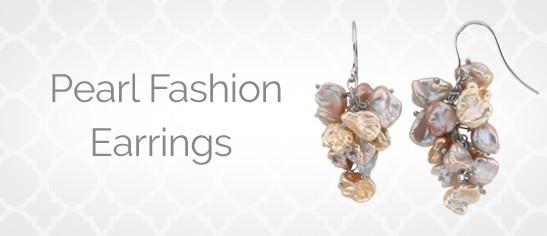 Pearl Fashion Earrings