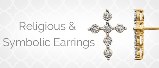 Religious And Symbolic Earrings