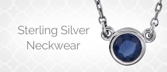 Sterling Silver Neckwear