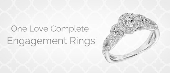 One Love Complete Engagement Rings