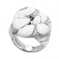 Catena White Ring