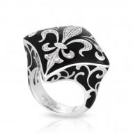 Jos�phine Black Ring