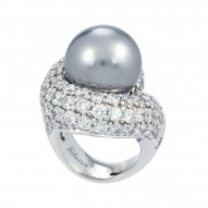 Infinity Grey Ring