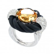 Cornice Champagne Ring