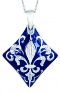 Jos�phine Blue Pendant