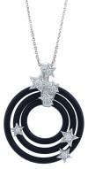 Cosmos Black Pendant