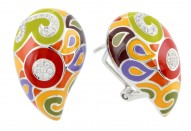 Paisley Multi Earrings