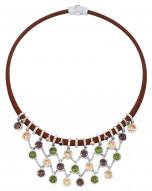 Lattice Fall Necklace