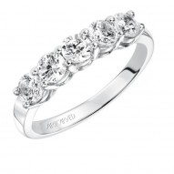 Artcarved 1/2 ct Five Stone Anniversary Ring