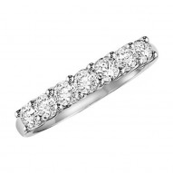 Artcarved 1/2ct Seven Stone Anniversary Ring