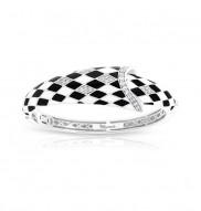 Tivoli Black & White Bangle