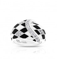 Tivoli Black & White Ring