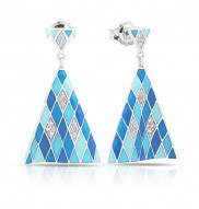 Tivoli Blue Earrings