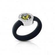 Diana Black/Olive Ring