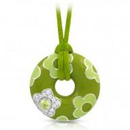 Fleur Green Pendant