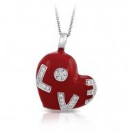 Love Red Pendant