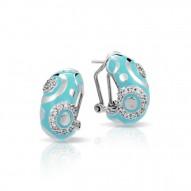 Galaxy Turquoise Earrings