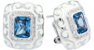 Royale Aquamarine Earrings