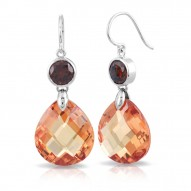 Juliette Champagne Earrings