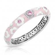 Fleur Pink Bangle