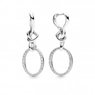 Pandora Earring  Style# 298110CZ