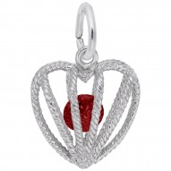 01 HEART BIRTHSTONE JAN