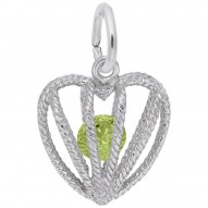 08 HEART BIRTHSTONE AUG