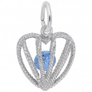 12 HEART BIRTHSTONE DEC