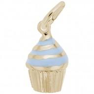 CUPCAKE - BLUE ICING
