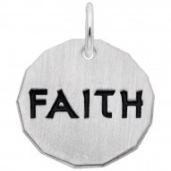 FAITH CHARM TAG W/9152