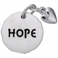 HOPE TAG W/HEART