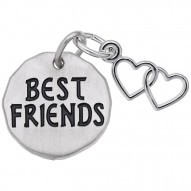 BEST FRIENDS TAG W/HEART