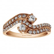 FA227 - Diamond Two Stone Ring