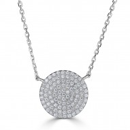 Sachs Signature Circle Necklace