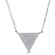 Sachs Signature Triangle Necklace