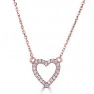 Sachs Signature Open Heart Necklace