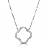 Sachs Signature Open Clover Necklace