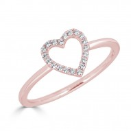 Sachs Signature Open Heart Ring