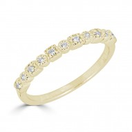 Sachs Signature Stackable Round and Pear Ring