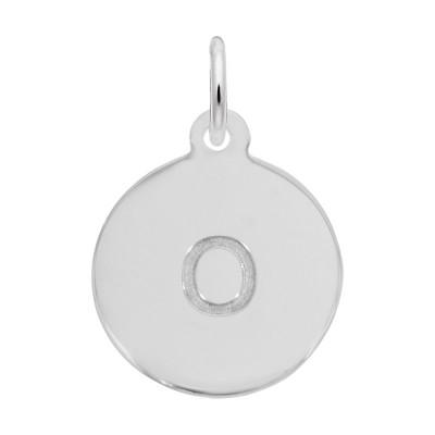 Petite Initial Disc - Lower Case Block O
