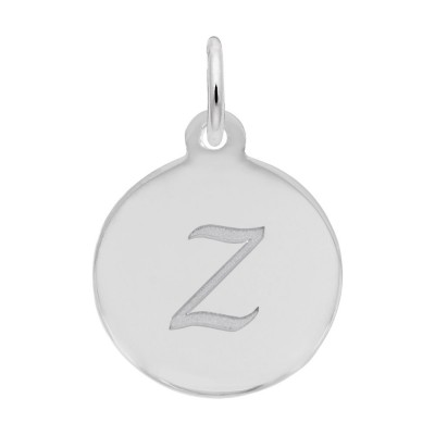 Petite Initial Disc - Script Z