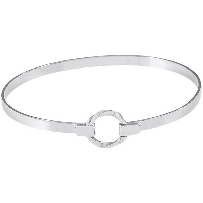 CENTERED BANGLE BY REMBRANDT CHARMS 7in