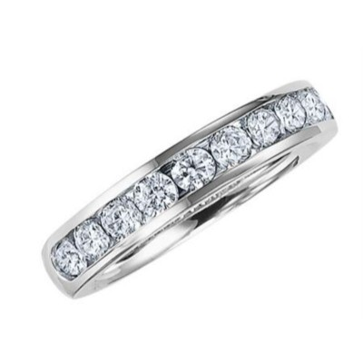 Artcarved 1/4ct Channel Set Anniversary Ring