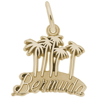 BERMUDA MAP W/PALMS