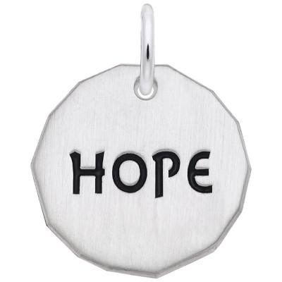 HOPE CHARM TAG W/9152