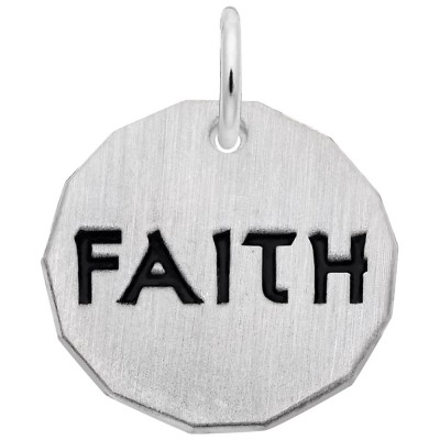 FAITH CHARM TAG W/9152