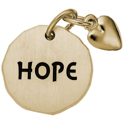 HOPE TAG W/HEART